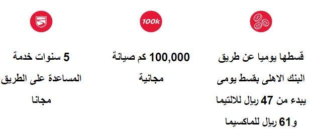 شروط عرض التمويل من بترومين Nissan السعودية 2020